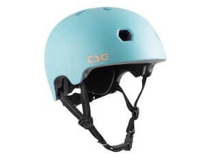 "TSG ""Meta Solid Color"" Helm - Satin Blue Tint"