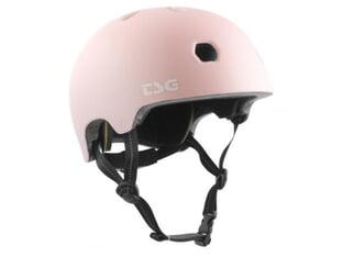"TSG ""Meta Youth Solid Color"" Helmet - Satin Macho Pink"