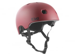 "TSG ""Meta Youth Solid Color"" Helmet - Satin Oxblood"