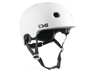 "TSG ""Meta Solid Color"" Helm - Satin White"