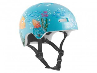 "TSG ""Nipper Graphic Design Mini Kids"" Helm - Happy Fish"