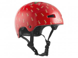 "TSG ""Nipper Graphic Design Mini Kids"" Helmet - Strawberry"