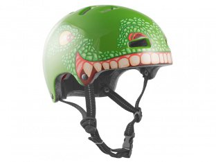 "TSG ""Nipper Graphic Design Mini Kids"" Helm - T-Rex"