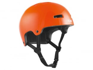 "TSG ""Nipper Maxi Solid Color"" Helm - Gloss Orange"