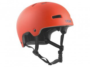 "TSG ""Nipper Maxi Solid Color"" Helmet - Satin Poppy Orange"