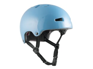 "TSG ""Nipper Mini Solid Color"" Helmet - Gloss Baby Blue"
