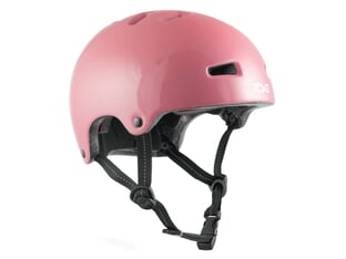 "TSG ""Nipper Mini Solid Color"" Helmet - Gloss Baby Pink"