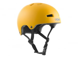 "TSG ""Nipper Mini Solid Color"" Helmet - Satin Mustard"