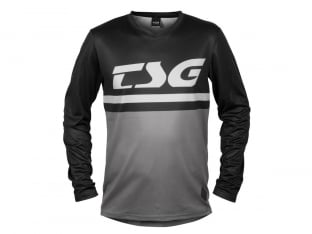"TSG ""Plain Jersey"" Longsleeve - Black-Grey"