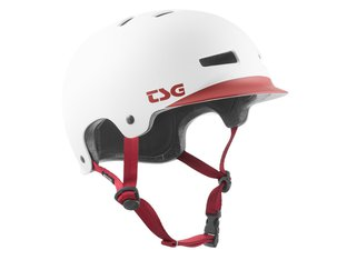 "TSG ""Recon Solid Colors II"" Helm - Cap White"