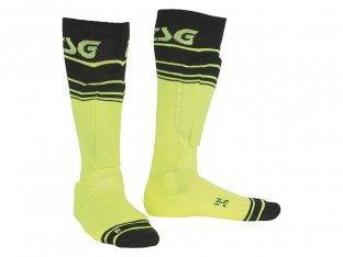 "TSG ""Riot"" Socks - Yellow-Striped"