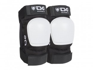 "TSG ""Roller Derby 3.0"" Elbow Pads - Black/White"