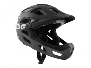 "TSG ""Seek Youth FR Graphic Design"" Helmet - Flow Grey-Black"