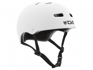 "TSG ""Skate/BMX Solid Colors"" Helm - Flat White"