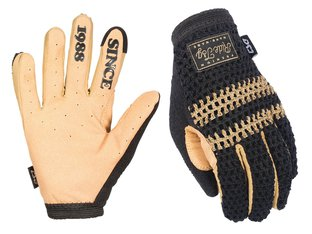 "TSG ""Slim Knit"" Gloves - Black-Beige"