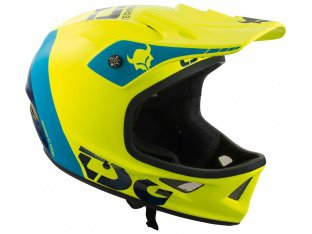 "TSG ""Squad Graphic Design"" Fullface Helm - Trap-Acidyellow"