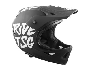 "TSG ""Squad Junior Graphic Design"" Fullface Helmet - Ripped Black"