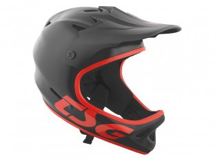 "TSG ""Staten Junior Solid Color"" Fullface Helm - Satin Black"