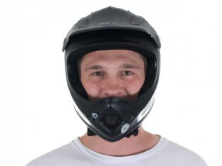"TSG ""Staten Solid Colors"" Fullface Helm - Flat Black"
