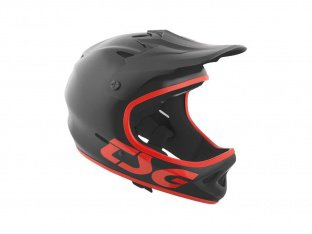 "TSG ""Staten Solid Colors"" Fullface Helmet - Satin Black"