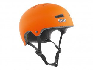 "TSG ""Superlight Solid Colors"" Helm - Flat Orange"