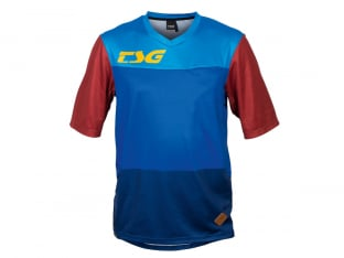 "TSG ""Swamp Jersey"" T-Shirt - Blue/Wine"