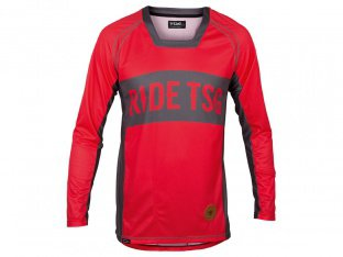 "TSG ""TP1 Jersey"" Longsleeve - Red/Grey"