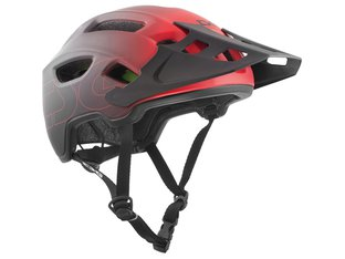 "TSG ""Trailfox Graphic Design III"" Helm - Fade to Red"