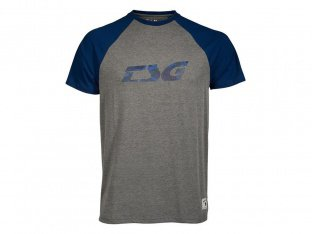 "TSG ""Trap Raglan"" T-Shirt - Grey/Blue"