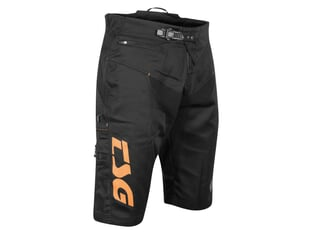 "TSG ""Worx"" Kurze Hose - Black/Orange"