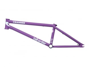 "Tall Order ""215 V3"" 2020 BMX Rahmen - Cranmer Matt Purple"