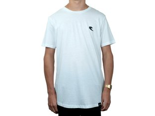 "Tall Order ""Bottom Logo"" T-Shirt - White"