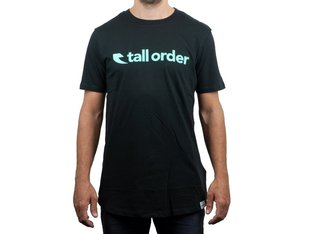 "Tall Order ""Font"" T-Shirt - Black"