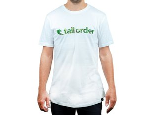 "Tall Order ""Font"" T-Shirt - White"