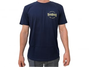 "Tempered Bikes ""BMX Goods"" T-Shirt - Navy Blue"