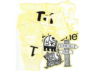 "Terrible One ""Black/White"" Stickerset"