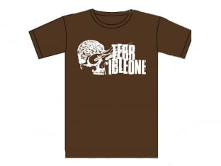 "Terrible One ""Brainskull"" T-Shirt - Brown"