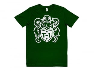 "Terrible One ""Crest"" T-Shirt - Green"