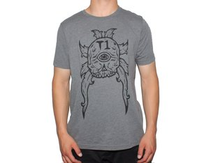 "Terrible One ""Cyclops"" T-Shirt - Grey"