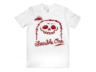 "Terrible One ""Furry"" T-Shirt - White"