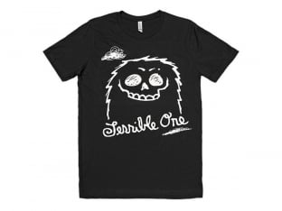 "Terrible One ""Furry"" T-Shirt - Black"