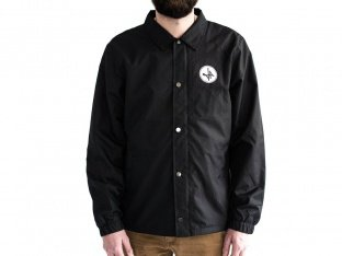 "The Fella BMX ""Coach"" Windbreaker Jacket - Black"