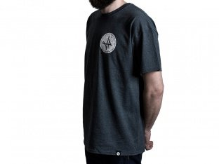 "The Fella BMX ""Football"" T-Shirt - Grey"
