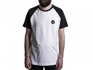 "The Fella BMX ""S/W"" T-Shirt - Black/White"