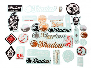 "The Shadow Conspiracy ""36 Stickers"" 2016 Stickerset"