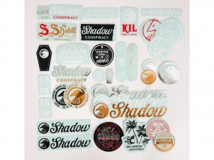 "The Shadow Conspiracy ""36 Stickers"" 2015 Stickerset"