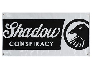 The Shadow Conspiracy Banner - White/Black