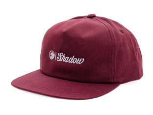 "The Shadow Conspiracy ""Block Snapback"" Cap - Maroon Red"