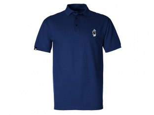 "The Shadow Conspiracy ""Crowlo"" Polo Shirt - Navy Blue"