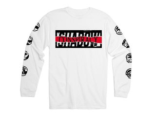 "The Shadow Conspiracy ""Distorted"" Longsleeve - White"